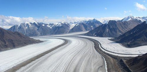 Kluane Nationalpark Gletscher