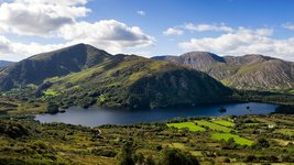 Seenlandschaft im Killarney Nationalpark