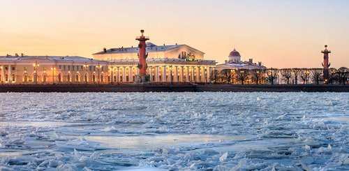 Winterzauber in St. Petersburg