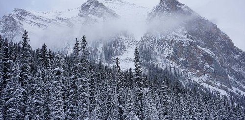 Winter im Banff Nationalpark