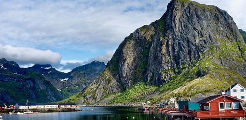 Reine in Norwegen