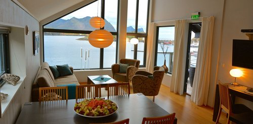 Panorama-Suite in Senja, Norwegen